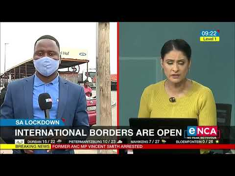 South African borders are open