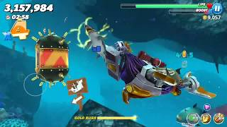 Hungry Shark World - Robo Shark Maxed The Pacific Islands | Android Gameplay | Droidnation