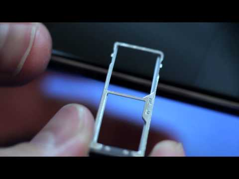 ALCATEL ONETOUCH IDOL 3 - How To Insert & Remove SIM & SD