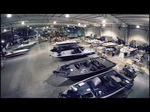 Xpress Boats factory tour