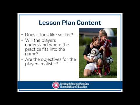 NSCAA: The Youth Training Session presented by Tom Goodman