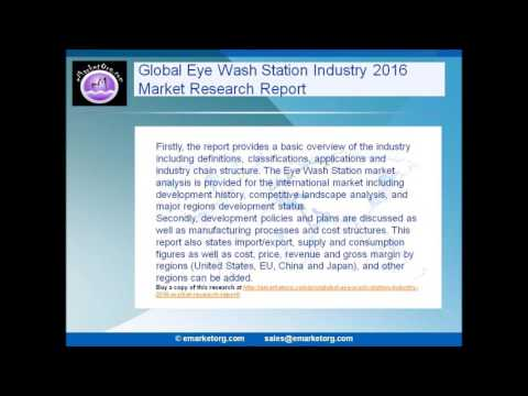 Global Eye Wash Station Industry 2016 Market Research Report