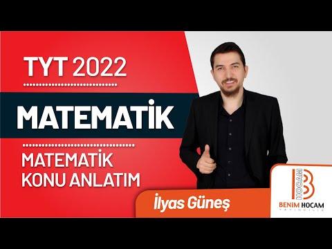 76)İlyas GÜNEŞ - I. Dereceden Denklemler - I (TYT-Matematik) 2020