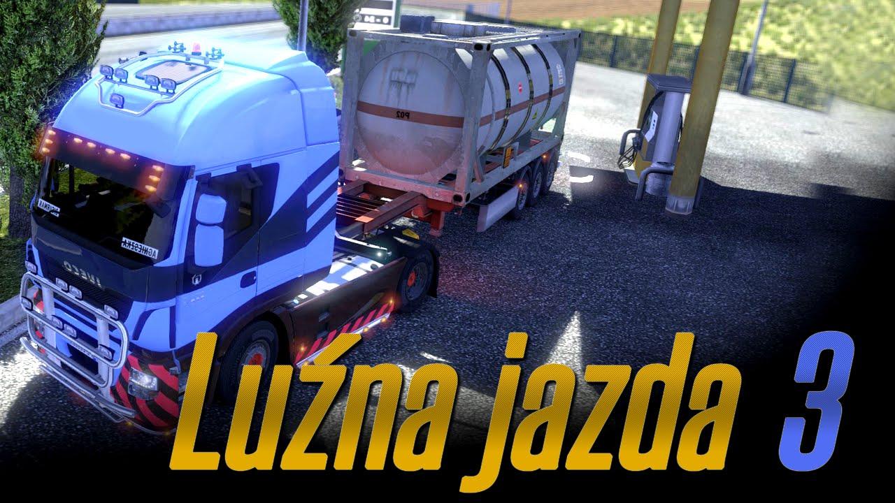Luźna jazda w Euro Truck Simulator 2 - #3 - Ile było stłuczek? :D
