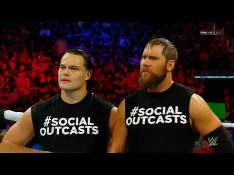 Curtis Axel w Bo Dallas vs Big Cass