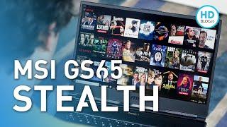RECENSIONE MSI GS65 Stealth con Nvidia RTX-2070 (edizione 2019)