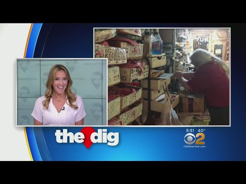 CBS2's The Dig Visits Casey Rubber Stamps