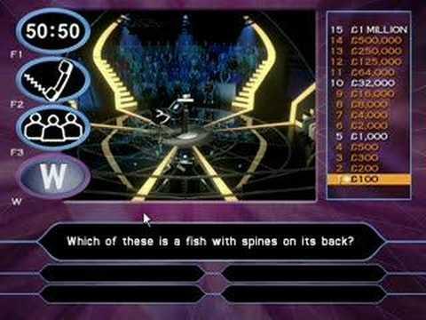 My Millionaire PC Game!