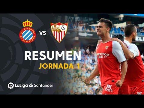 Resumen de RCD Espanyol vs Sevilla FC (0-2)