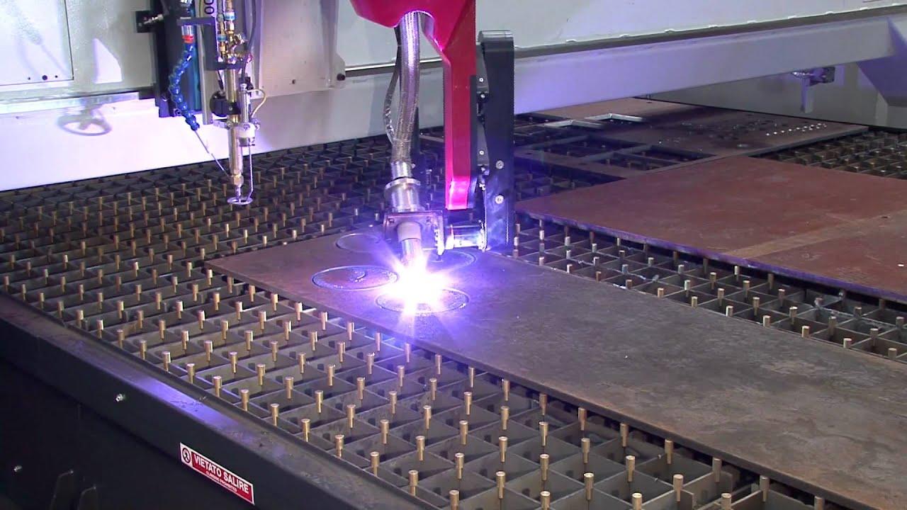Ficep Gemini Hd36 Bevel Head Steel Plate Plasma Cutting
