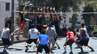 Fire vs Rage - 6/7/15 - 9 Man Volleyball
