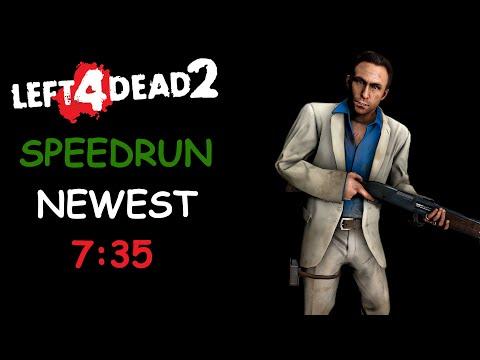 Left 4 Dead 2 Solo Speedrun 7 Minutes Cold Stream World Record