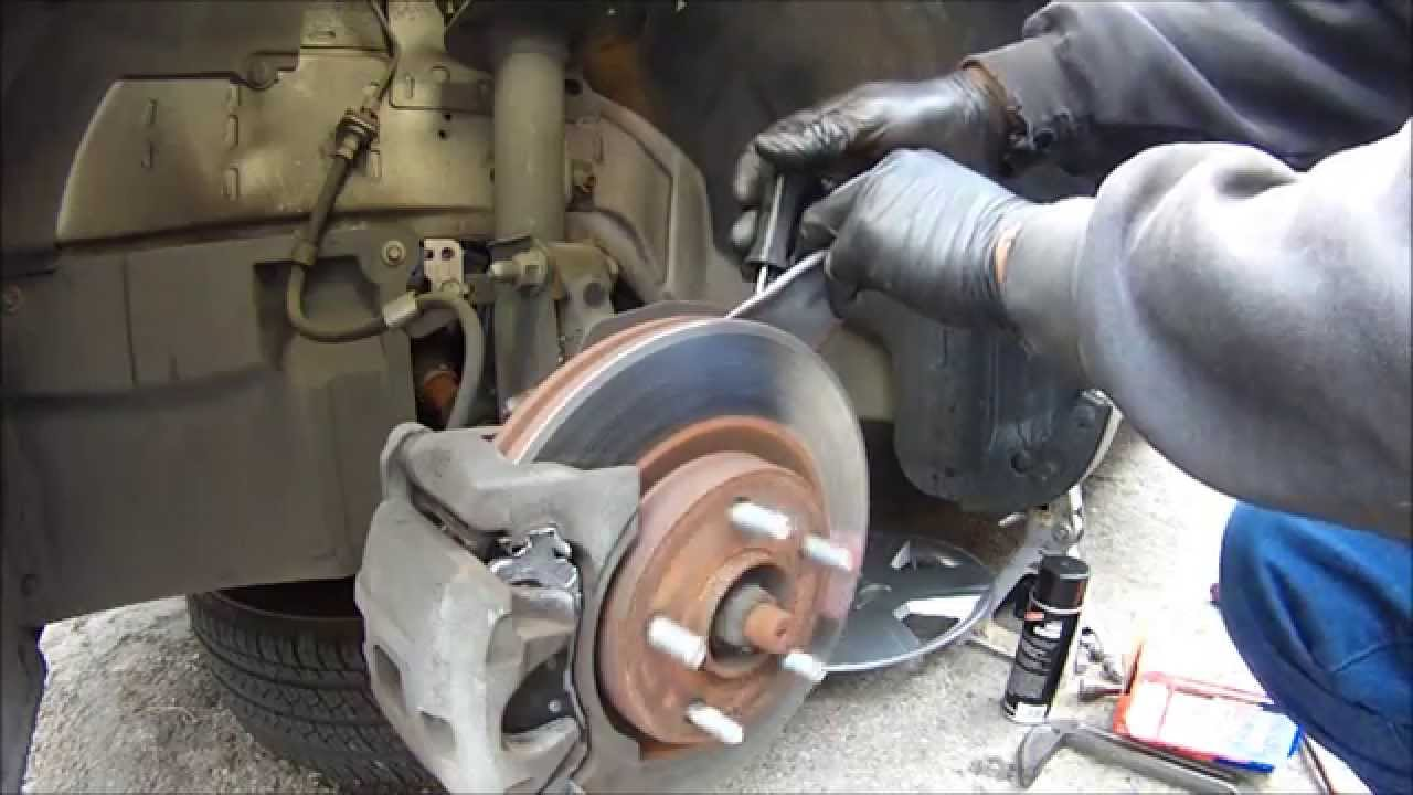 Diy 2009 Dodge Avenger Brake Pad Job Easy And Fast Youtube Caption Diagram Of The Basic Front Disc Setup Arotor B