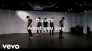 Da-iCE - what you say -Da-iCE Official Dance Practice-
