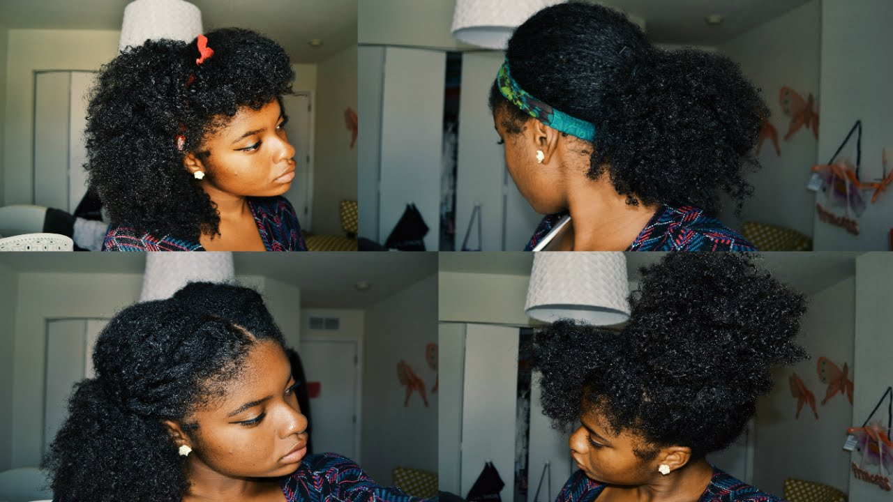 9 Easy Hairstyles For School: 9 BACK TO SCHOOL HAIRSTYLES ON NATURAL HAIR