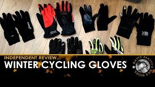 My favourite cold weather & winter cycling gloves + waterproof cycling gloves – independent review