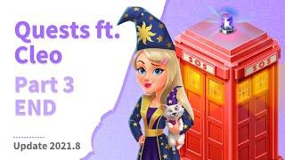 Cleo&#39s Quest - Part 3  Floor 7 &amp 8 - END  My Café: Recipes &amp Stories