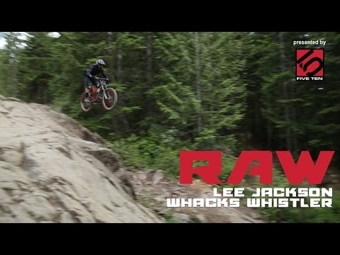 This is How You Ride Whistler! VitalRAW with Lee Jackson