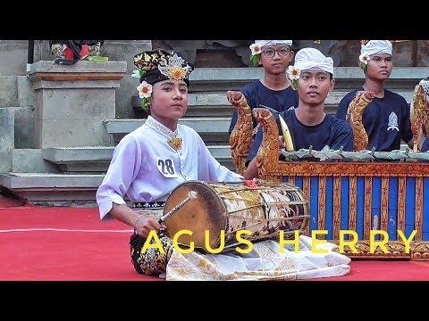 JUARA 1 KENDANG SMP : Agus Herry ( SMPN 1 DPS ) PSR 2019 Denpasar