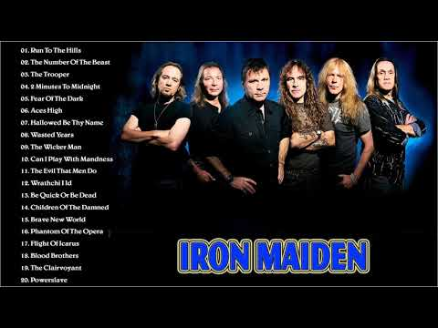 The Best Songs Of Iron Maiden   Iron Maiden Greatest Hits   Iron Maiden Full Album 2021