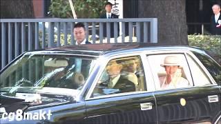 令和元年 天皇皇后両陛下日本学士院会館日本学士院第109回授賞式.