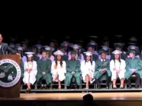 Adam Leitman Bailey Presents Commencement Address to New Milford High School's 2008 Graduating Class