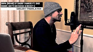 Download Lagu Dura (REMIX) by Daddy Yankee ft. Bad Bunny, Natti Natasha & Becky G   English Translation mp3