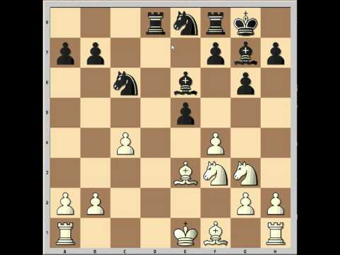 Bobby Fischer's counterattack in King Indian Defence