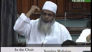 maulana badruddin ajmal speaking in parliament