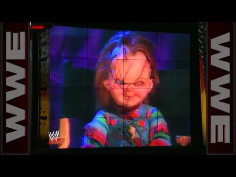 "Rick Steiner encounters Chucky from ""Child's Play"" on WCW"