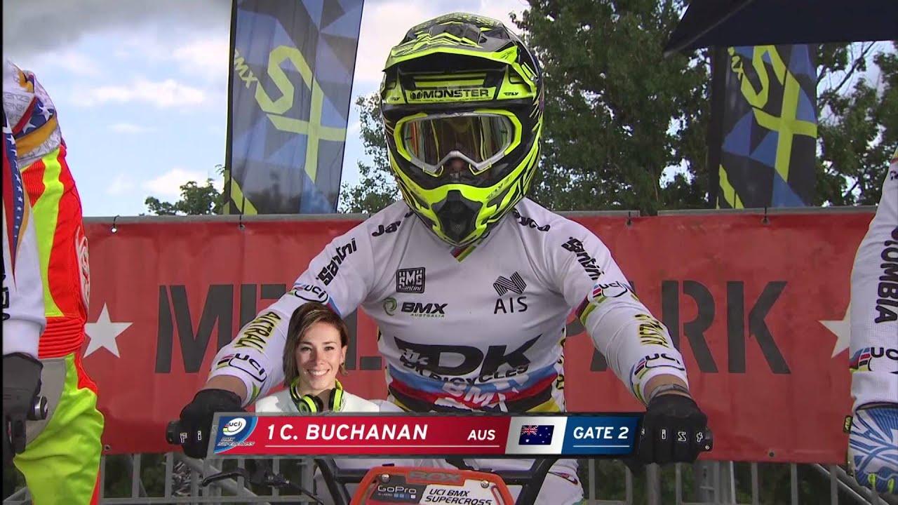 UCI BMX Supercross Berlin 2014: Womens Final