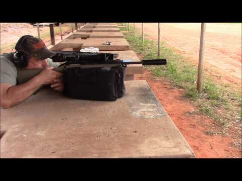 Shooting the Ruger Ranch Rifle in 223 Suppressed With Subsonic Ammo