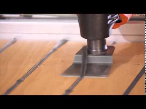 Galiser les mat riaux de joint avec le multimaster fein sur youtube - Joint pont de bateau ...