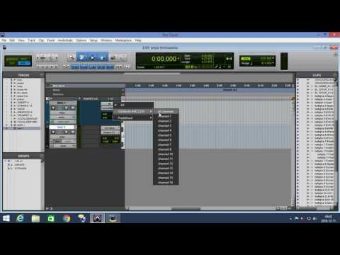 MIDI SETUP IN PRO TOOLS WINDOWS EN