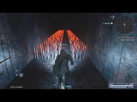 FINAL FANTASY XV - Pitioss Ruins 2 Minute Speedrun & Black Hood Accessory