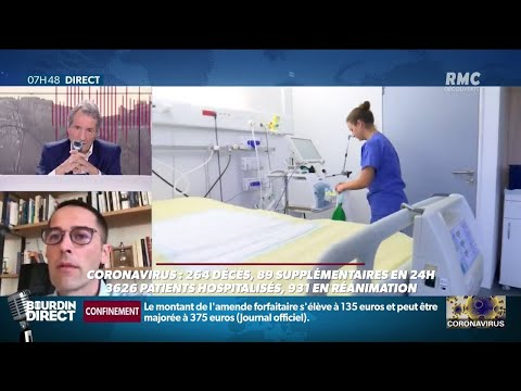 Coronavirus: les premiers effets positifs du confinement se font ressentir aux urgences de Mulhouse