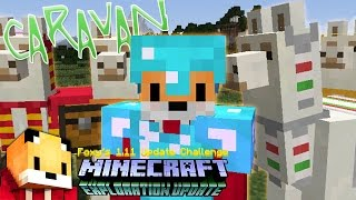 Mineacraft 1.11 - LLAMA CARAVAN - Minecraft 1.11 Exploration Update Challenge [12]