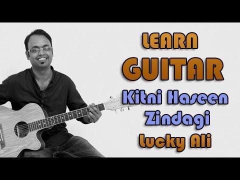 Kitni Haseen Zindagi Guitar Lesson - Lucky...