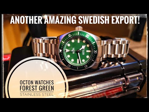 Octon Watches, Forest Green Diver: $250 Miracle