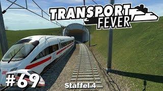 Transport Fever S4/#69: Eröffnung des 1.ICE-Abschnitts [Let's Play][Gameplay][German][Deutsch]