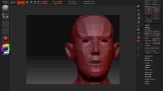 Devil Zbrush 3ds max MatchMover Test