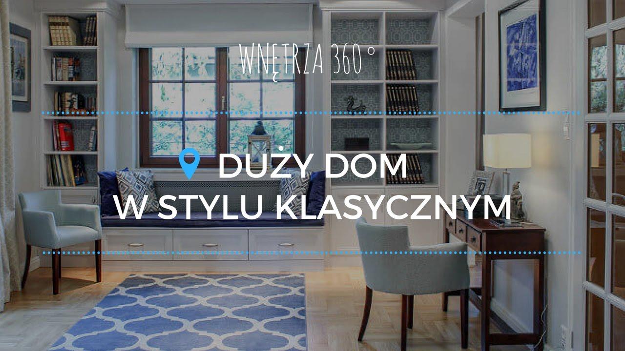 Jak urządzić duży dom w stylu klasycznym? #projektwnętrz #architekt
