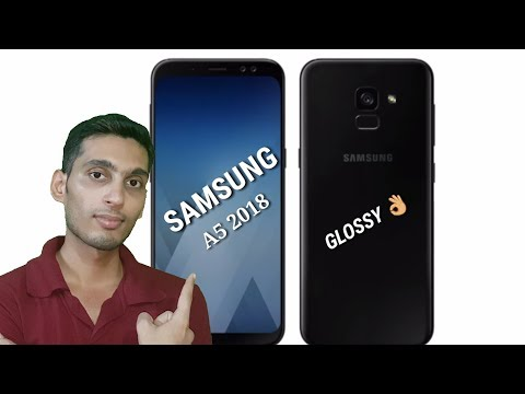 Samsung Galaxy A5 (2018) with Frameless 5.5 Inch Infinity Display and New Breathtaking Design and it.