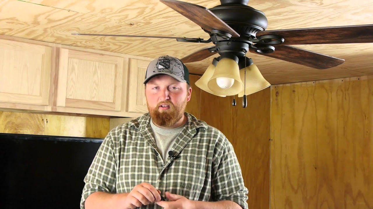 How To Rebalance A Ceiling Fan
