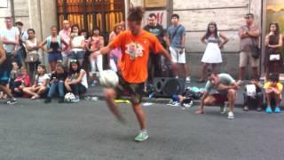 FastFoot Crew Calcio Freestyle Roma Agosto 2014