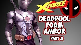 How to Deadpool Cosplay Costume foam armor pt2