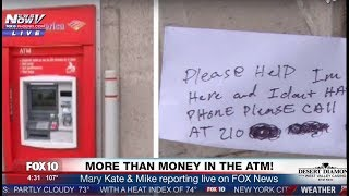 WOW: Man Gets Stuck Inside ATM Area And OFFICIALLY Has WORST DAY EVER (FNN)