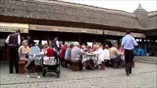 "Ridcentret ""Rádpuszta"" vid Balatonsjön i Ungern"
