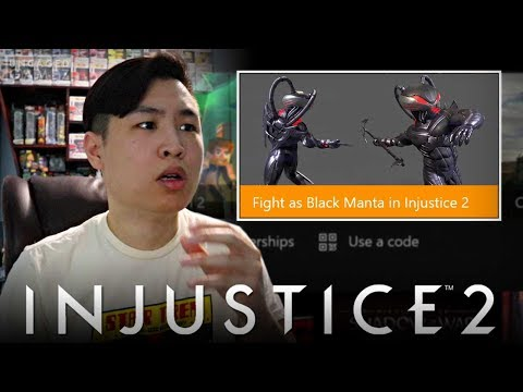 Thumbnail: Injustice 2 - Black Manta Accidentally LEAKED!! [REACTION]