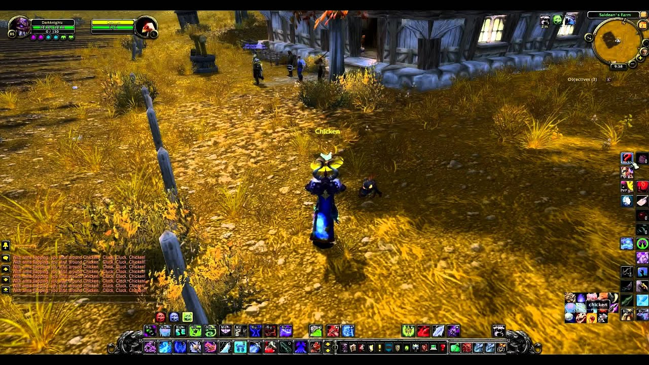 World of warcraft westfall chicken companion guide youtube for West fall